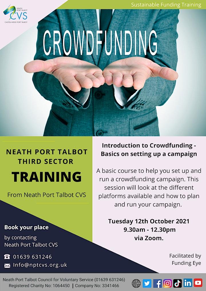 NPTCVS Training - Introduction to Crowdfunding image