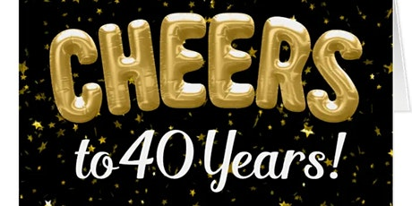 Cheers To 40 Years tickets