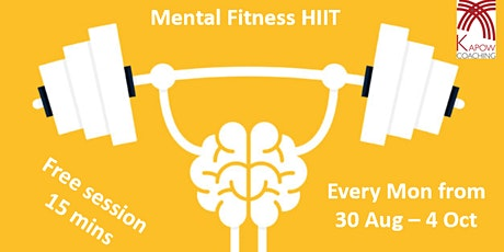 Mental Fitness HIIT session tickets