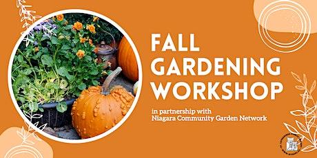 Fall Gardening: Season Extension & Preparing for Winter Virtual Program tickets