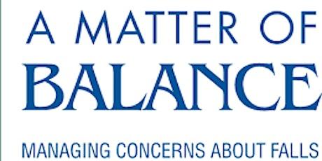 A Matter of Balance Coach Training - Online Event tickets