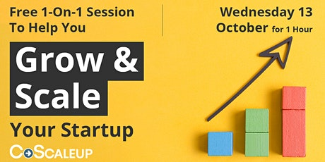 Grow & Scale Your Startup tickets