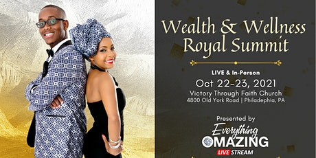 Everything Omazing Wealth and Wellness Summit tickets