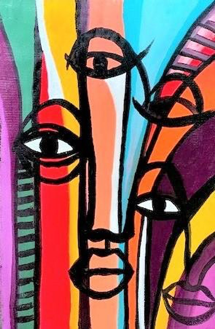 Mixed Media Art & African Fashion Culture image