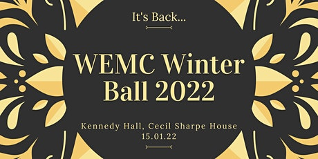 WEMC Winter Ball 2022 - London Tickets tickets