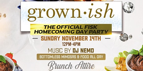 Grown-Ish Homecoming Day Party tickets