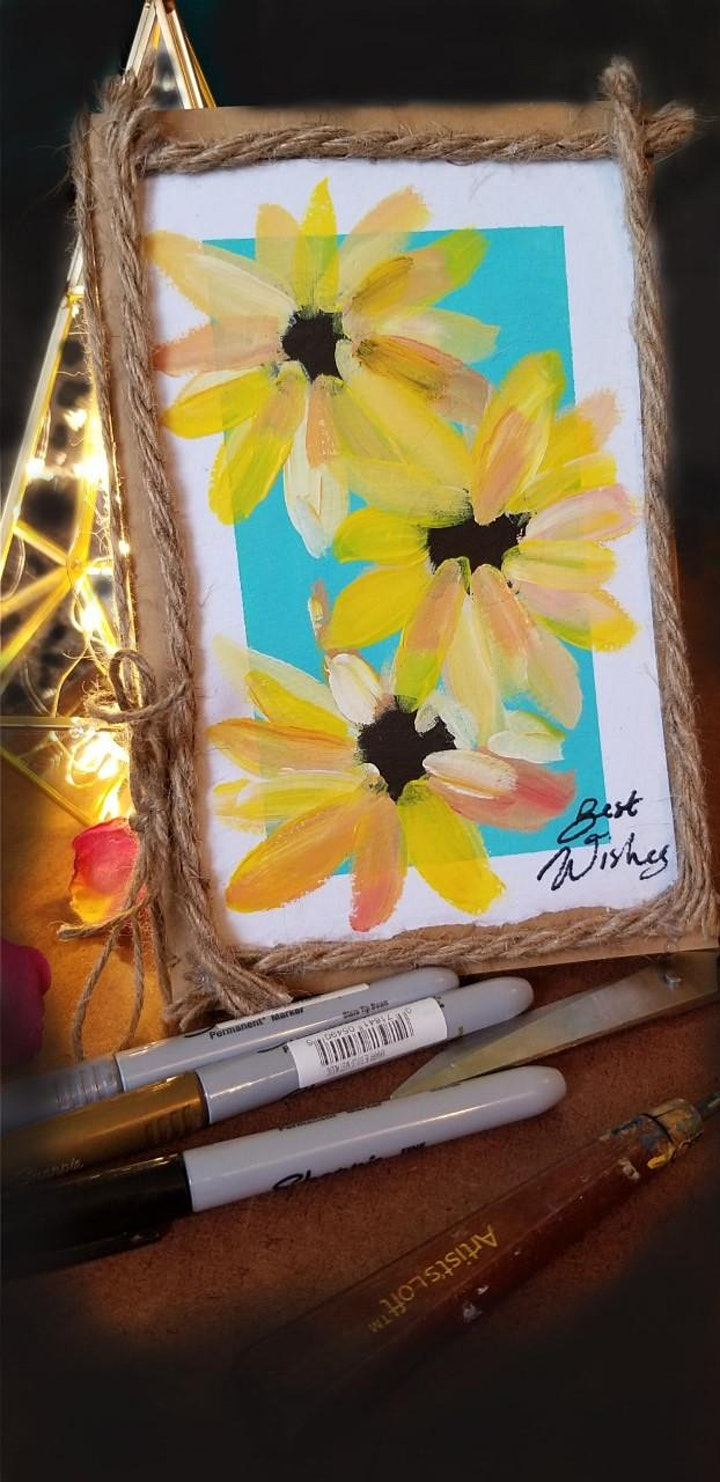 Sunflowers: Card Making Workshop image