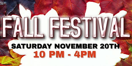 Community Fall Festival tickets