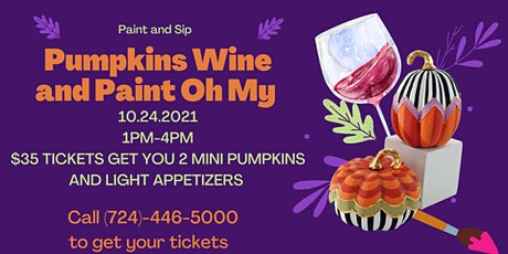 Paint and Sip Fall Style tickets