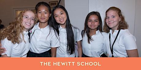 The Hewitt School Upper School Open House (Grades 9-12) tickets