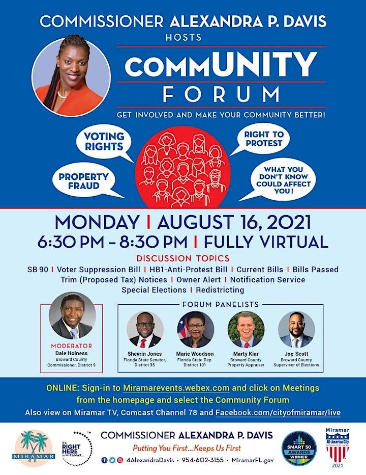 Community Forum 2021 image