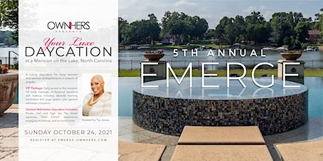 5th Annual EMERGE Retreat at Mansion on the Lake tickets
