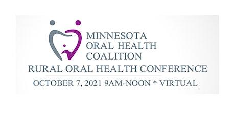 Minnesota Rural Oral Health Conference 2021 entradas