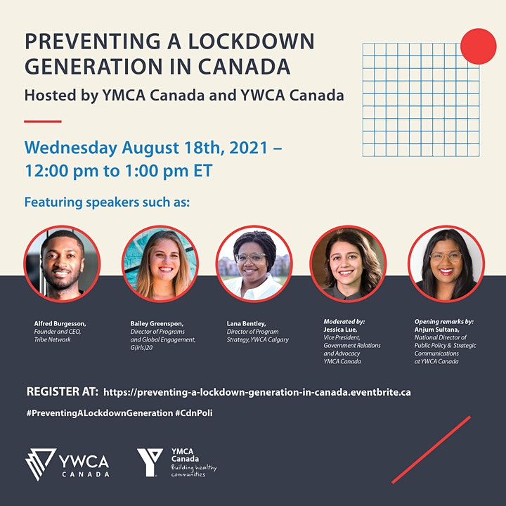 Preventing a Lockdown Generation hosted by YMCA Canada and YWCA Canada image