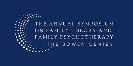 58th Annual Symposium on Family Theory and Family Psychotherapy tickets