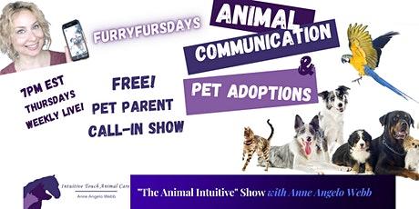 #FurryFursdays Weekly Animal Communication Call-In Show Tickets