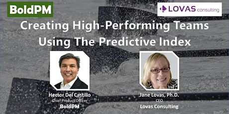 Creating High-Performing Teams Using The Predictive Index tickets