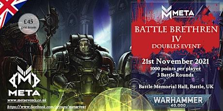 Meta Event - Battle Brethren IV Double's Event 2021 tickets