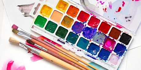 Watercolours for Kids - 10 week course tickets