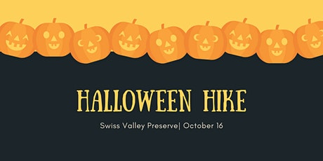 Halloween Hike: Swiss Valley Preserve tickets