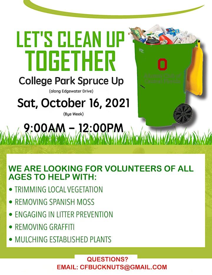 College Park Community Spruce Up Volunteer Event image