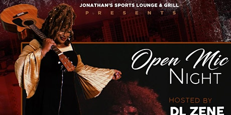 Open Mic Night at Jonathan's tickets