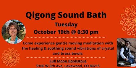 Qigong Sound Bath tickets
