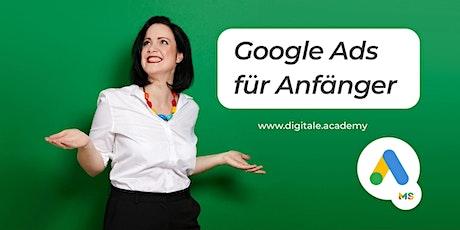 Google Ads für Anfänger Tickets