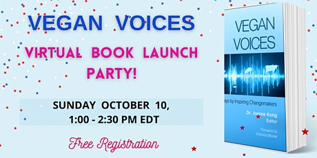 VEGAN VOICES Virtual Book Launch Party tickets