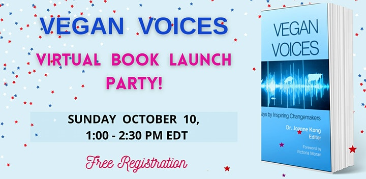 VEGAN VOICES Virtual Book Launch Party image