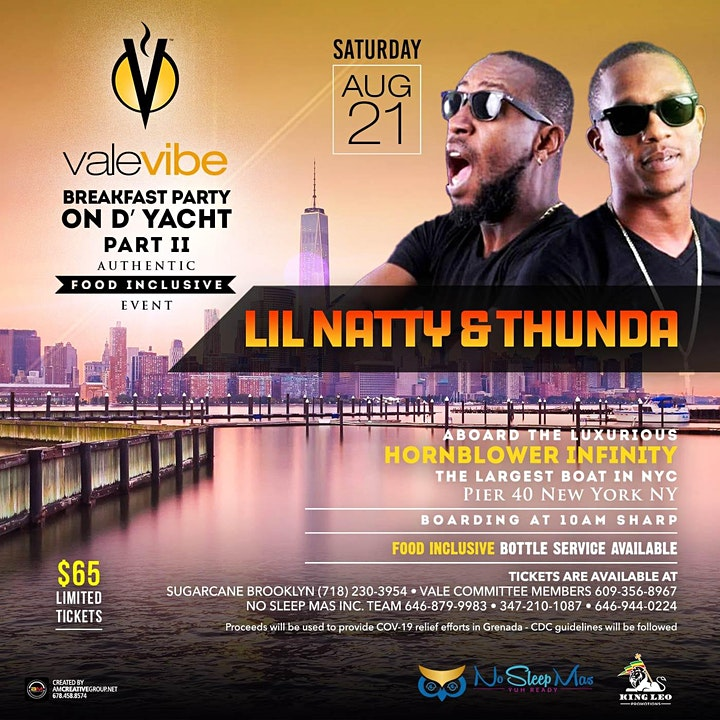 ValeVibe Breakfast Party On D Yacht Food Inclusive Breakfast Party II image