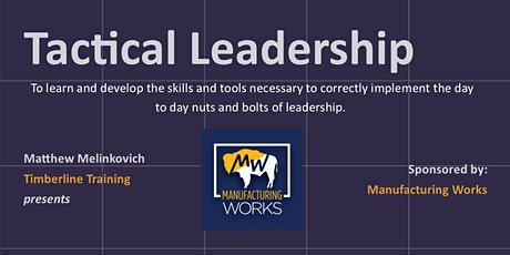 Tactical Leadership tickets