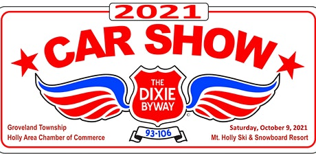 October 9, 2021 Dixie Byway Car Show & Cruise tickets