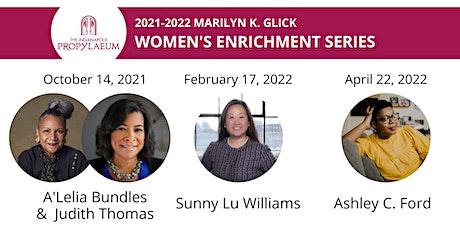 Marilyn K. Glick Women's Enrichment Series 2021-2022 tickets