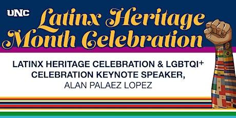 Latinx Heritage Celebration and LGBTQI+ History Month Keynote Speaker 2021 tickets