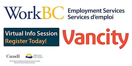 WorkBC VNE - Vancity Virtual Hiring Event tickets