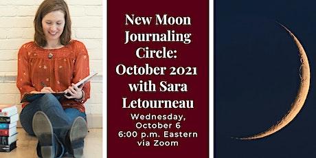 New Moon Journaling Circle: October 2021 tickets