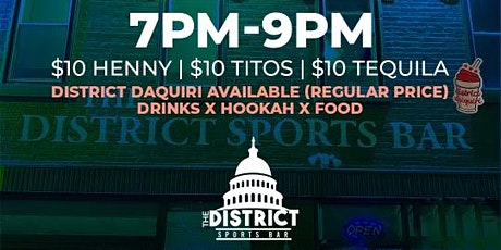THURSDAYS AT THE DISTRICT SPORTS BAR tickets
