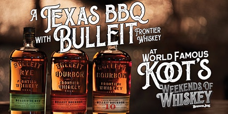 Barrel Pick Barbecue with Bulleit tickets