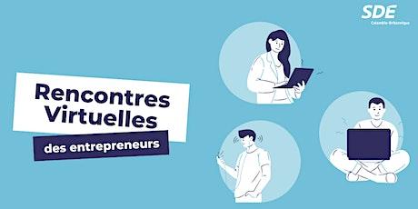 Rencontres virtuelles des entrepreneurs tickets