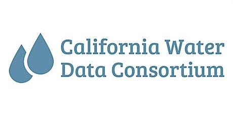 California Water Data Consortium Data for Lunch w/SFEI tickets