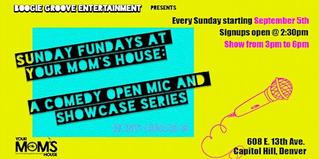 Sunday Funday: Comedy Open Mic tickets