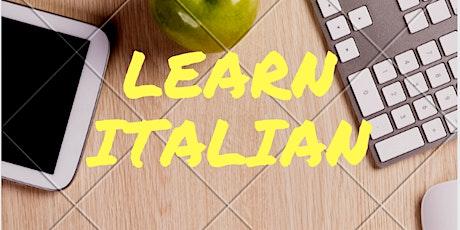 Fun Conversational Italian Class tickets