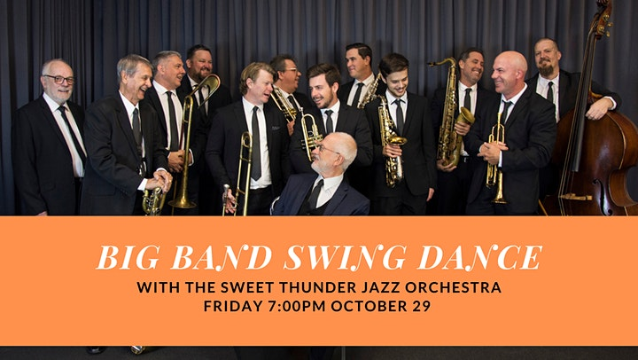 Big Band Swing Dance featuring The Sweet Thunder Jazz Orchestra image
