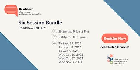 Roadshow - Six Session Bundle Fall 2021 tickets