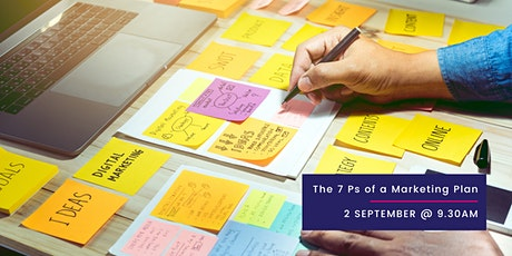 The 7 Ps of a Marketing Plan tickets