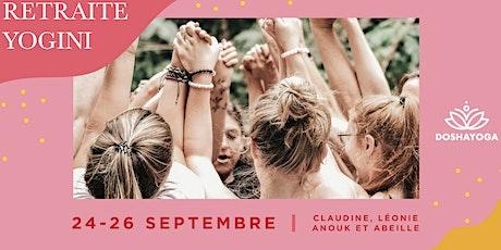 RETRAITE YOGINI 24-25-26 SEPTEMBRE tickets