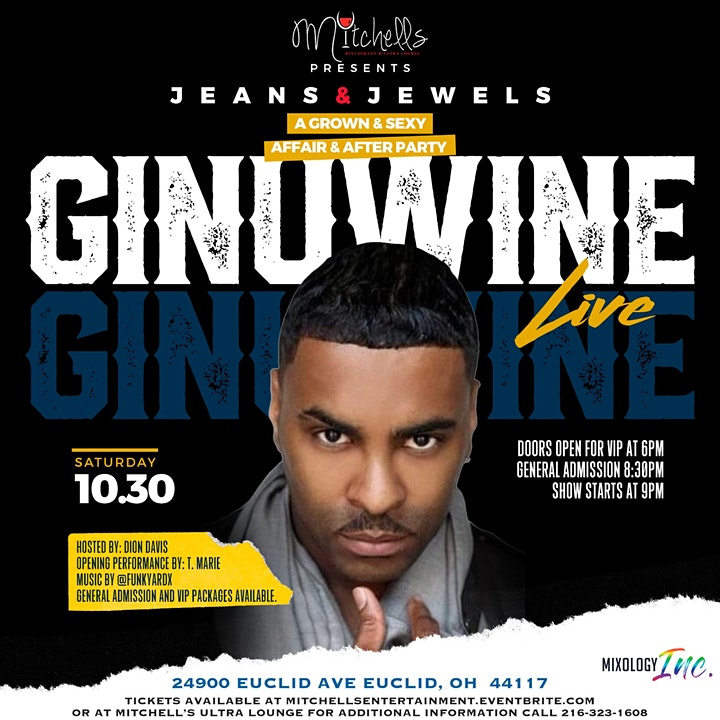 Mitchell's Ultra Lounge Presents... Ginuwine LIVE image