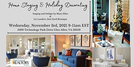 Home Staging and Holiday Decorating tickets