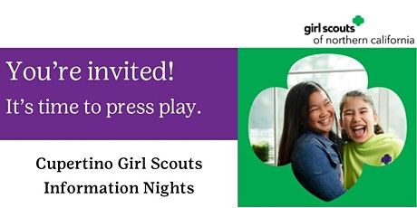 Cupertino, CA | Girl Scouts Information Nights tickets